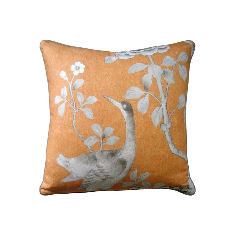 Chinois Palais Decorative Pillow Tangerine Ryan Studio Pillows