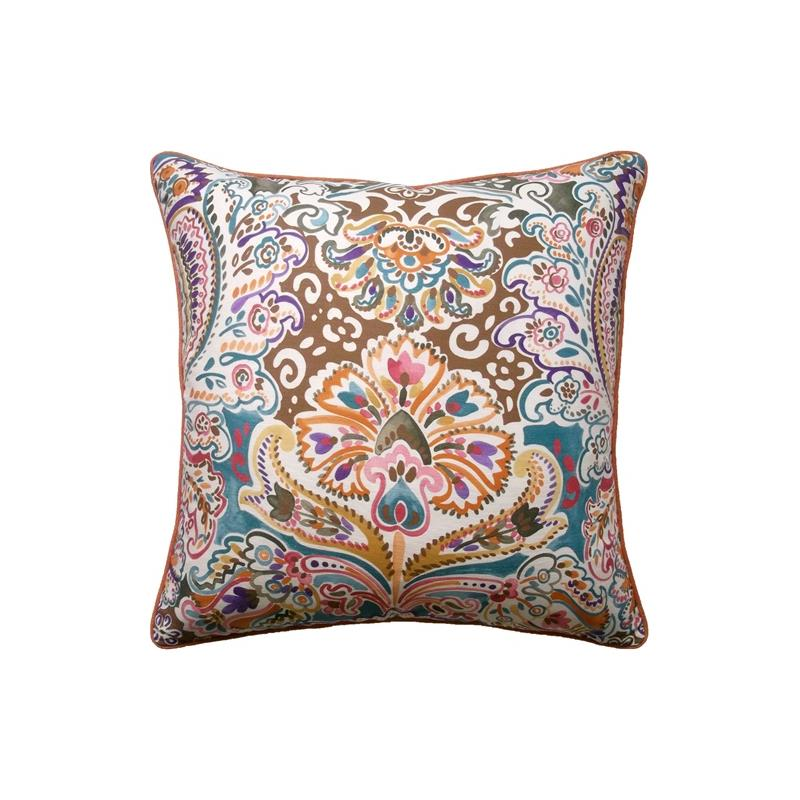 Decorative Pillows By Ryan Studio : Costes Decorative Pillow Teal Ryan Studio Pillows