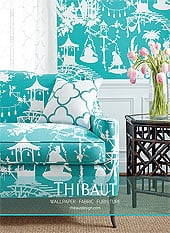 Thibaut Fabric Display