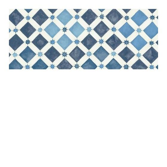 113-11032 Zellige China Blue and White by Cole and