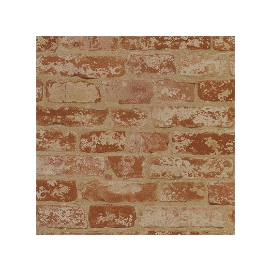 Bz9206 Faux Brick Sure Strip Removable Wallpaper