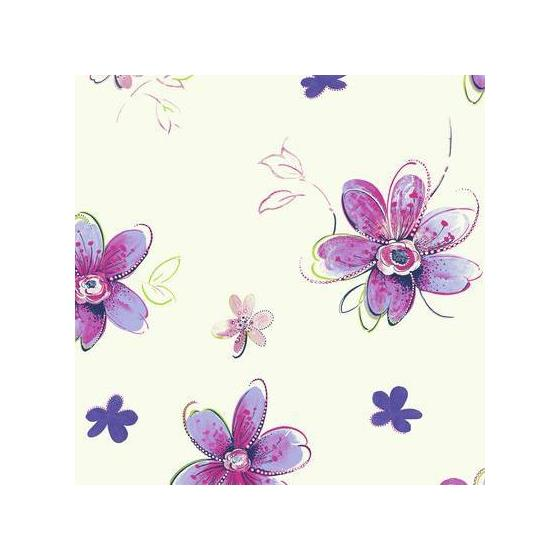 Flowers Sure Strip - Removable Wallpaper