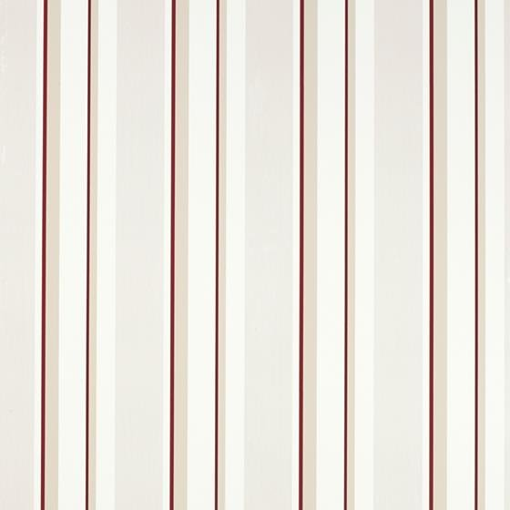 3601128 Eaton Stripe Cranberry Red Laura Ashley