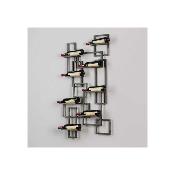 04064 Scheldt Wall Wine Rack Uttermost