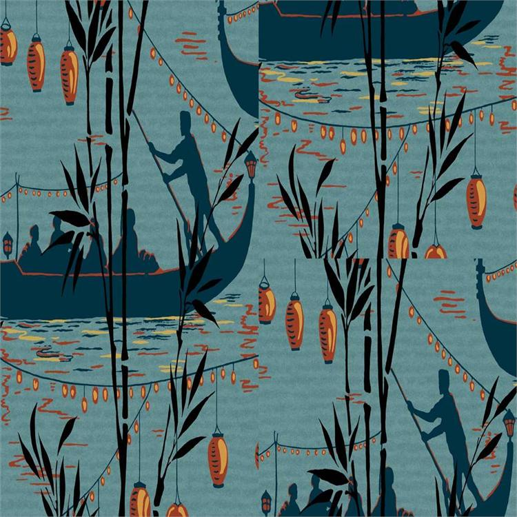 89/8032 | Cole and Son Wallpaper | Gondola | Wallcovering