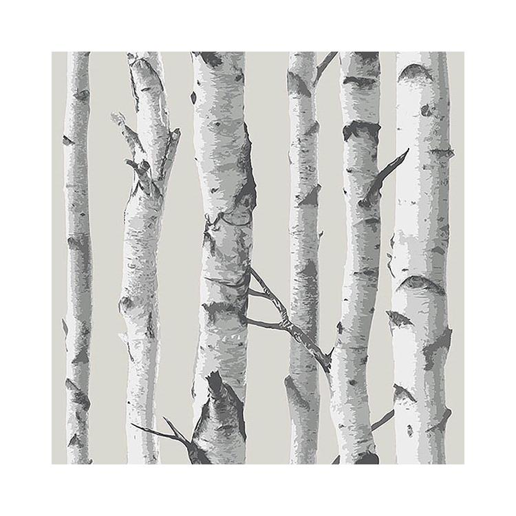 Nu1650 birch tree peel and stick wallpaper nuwallpaper - Birch tree wallpaper peel and stick ...