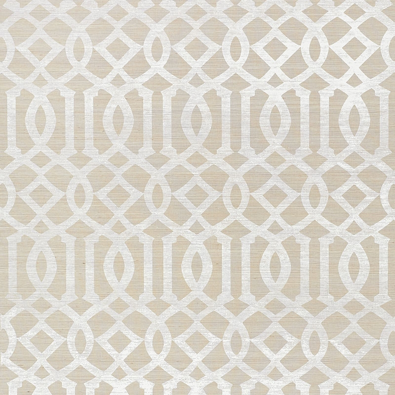green trellis wallpaper schumacher - photo #13