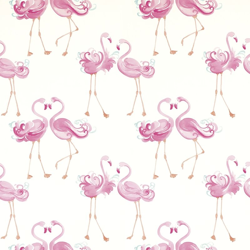 3622319 Pretty Flamingo Pink Laura Ashley