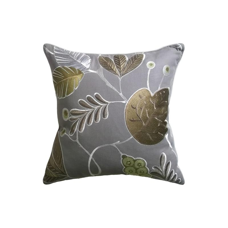 Ventana Decorative Pillow Leaf Ryan Studio Pillows
