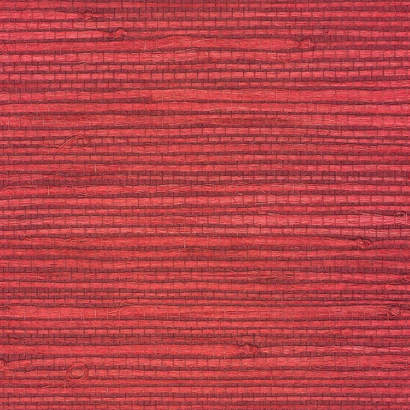 Red Grasscloth Wallpaper: Limited Stock/Juicy Jute Grasscloth Chinese Red