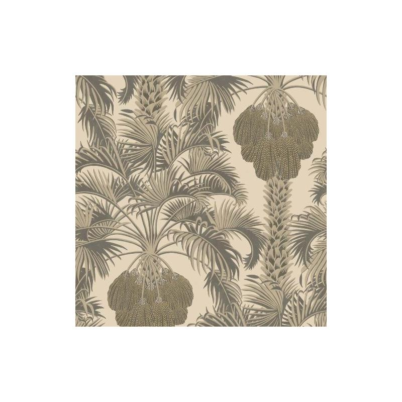 113-1003 Hollywood Palm Silver and Charcoal by Col